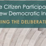 Highlights from Catching the Deliberative Wave